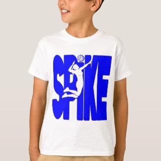 青いVBのスパイク Tシャツ