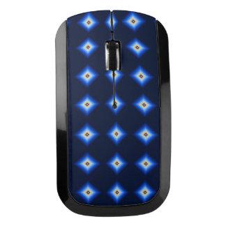 青およびタンのダイヤモンド ワイヤレスマウス