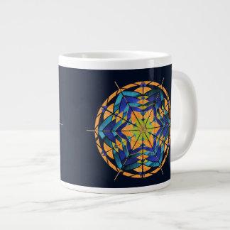 青およびモモのDreamcatcherのコーヒー・マグ ジャンボコーヒーマグカップ