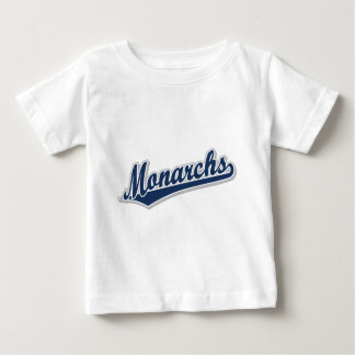 青および灰色の(昆虫)オオカバマダラ、モナーク ベビーTシャツ