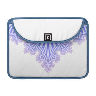 青および白いモダン MacBook PROスリーブ