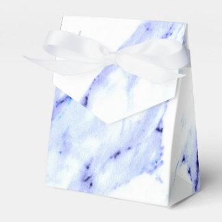 青および白い大理石 フェイバーボックス