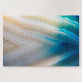 青および白い瑪瑙 ジグソーパズル