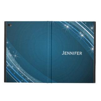 青および白いiPadの空気2箱 Powis iPad Air 2 ケース
