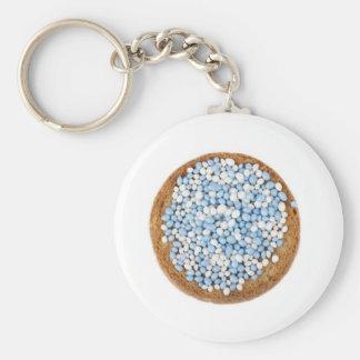 青および白いMuisjes Keychain キーホルダー