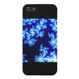 青および白 iPhone 5 CASE