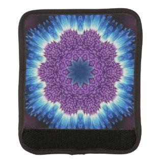 青および紫色のラゲージハンドルラップ ラゲッジ ハンドルラップ