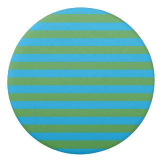 青および緑の横は縞で飾ります 消しゴム