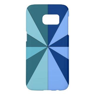 青および緑の色合い SAMSUNG GALAXY S7 ケース