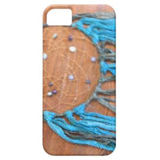 青および緑のDreamcatcher iPhone SE/5/5s ケース