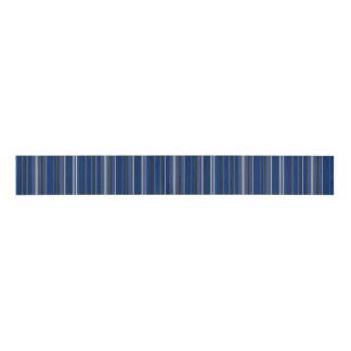 """青および銀のストライプ3""""広くグログランリボン グログランリボン"""