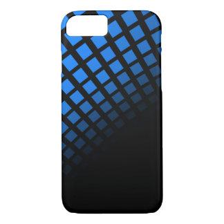 青および黒い電話箱 iPhone 8/7ケース