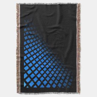 青および黒の投球 スローブランケット