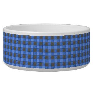 青および黒の点検のペットボウル