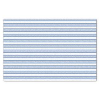 青か灰色輪郭を描かれたストライプ 薄葉紙