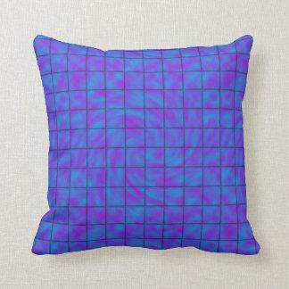 青か紫色のチョコレート・バー クッション