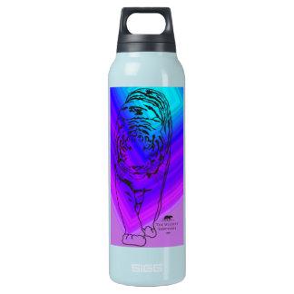 青か紫色のLilly 断熱ウォーターボトル