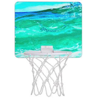 青か緑のマウイはThunder_Coveを振ります ミニバスケットボールゴール