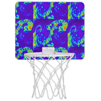 青か緑カールの波Thunder_Cove ミニバスケットボールゴール