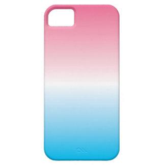 青くグラデーションなiPhone 5の箱に飾って下さい iPhone SE/5/5s ケース
