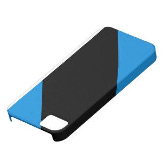 青くストライプのなiPhoneの箱 iPhone SE/5/5s ケース