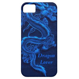 青く中国のなドラゴン iPhone SE/5/5s ケース