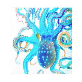 青く多彩なocopi ノートパッド