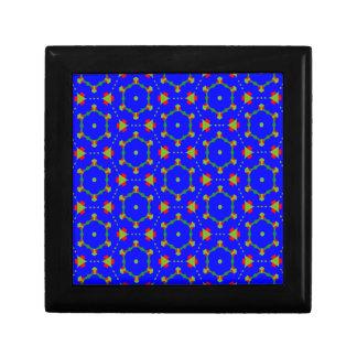 青く威厳があるなデザインのギフト用の箱 ギフトボックス