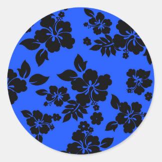 青く暗いハワイアン ラウンドシール