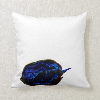 青く暗い本当はコショウの食糧イメージ クッション