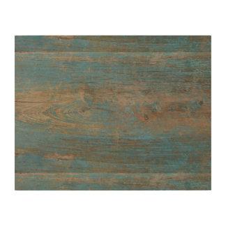 青く模造のなビーチ木質 ウッドウォールアート