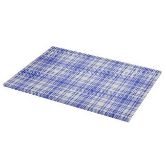 青く白い格子縞2 カッティングボード