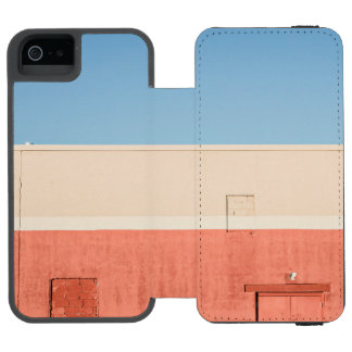 青く白い赤 INCIPIO WATSON™ iPhone 5 ウォレット ケース