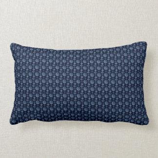 青く航海のなパターンLumbarの枕 ランバークッション