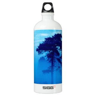 青く霧深い朝 ウォーターボトル