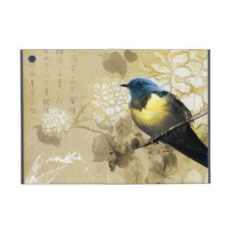 青く黄色いつぐみの鳥-中国のな絵画の芸術 iPad MINI ケース