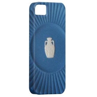 青く19世紀なPortalndのつぼのプレート iPhone SE/5/5s ケース