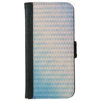 青く、ピンクのダイヤモンドの財布の電話箱 iPhone 6/6S ウォレットケース