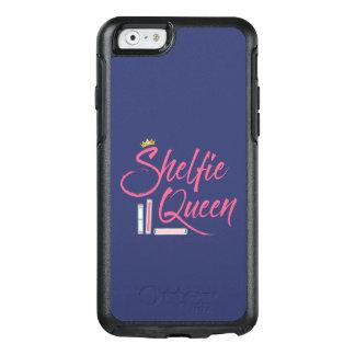 青く、ピンク愛書家のShelfieの女王 オッターボックスiPhone 6/6sケース