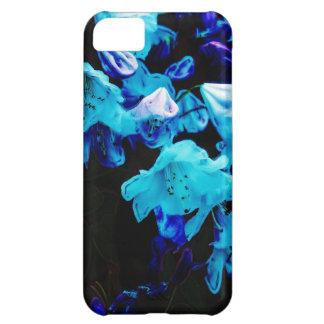 青く、花の、青い花のシャクナゲ iPhone5Cケース