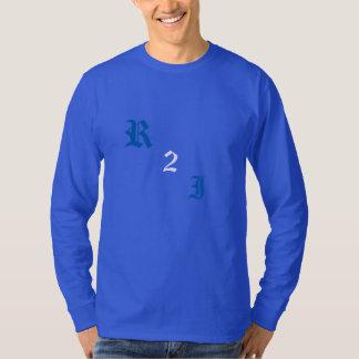青で冷えること Tシャツ