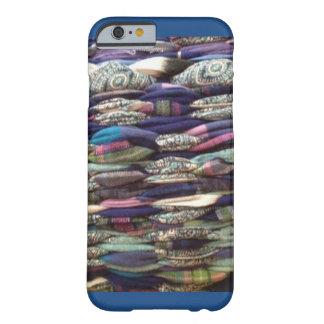 青で編むぼろきれ BARELY THERE iPhone 6 ケース