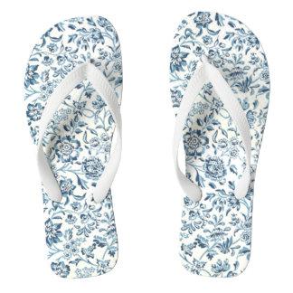 青によってはビーチサンダルが開花します ビーチサンダル