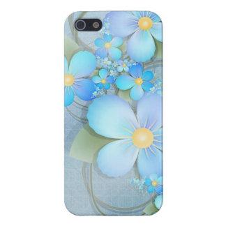 青によってはiPhoneの箱が開花します iPhone 5 ケース