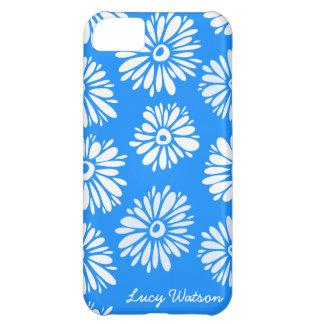 青によってはiPhone 5の箱が開花します iPhone5Cケース