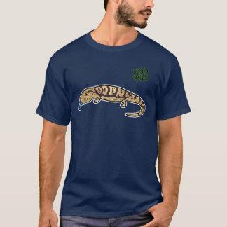 青によってスタカットに奏されるSkink Tシャツ