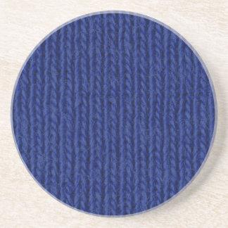 青によって編まれる綿の終わり コースター