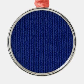青によって編まれる綿の終わり メタルオーナメント