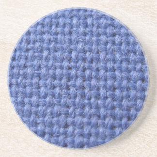 青によって編まれる質のコースター コースター
