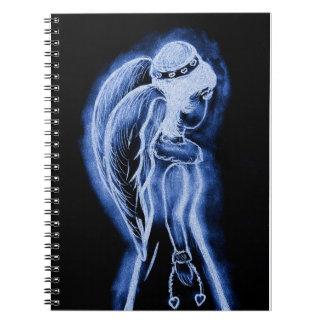 青によって逆にされる天使 ノートブック